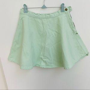 American Apparel skirt in mint